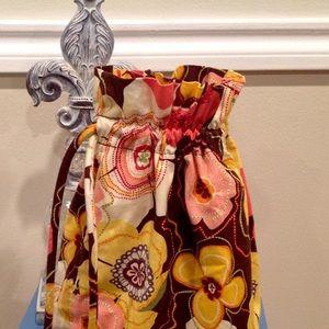Vera Bradley Ditty bag 13 in. Tall x 8.5 diameter